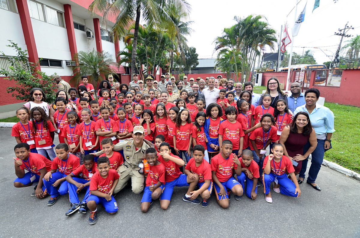 Projeto Bombeiro Mirim tem início em Nova Iguaçu 9