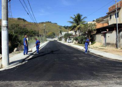 Mais seis ruas de Gerard Danon vão receber asfalto novo até sexta-feira (16)
